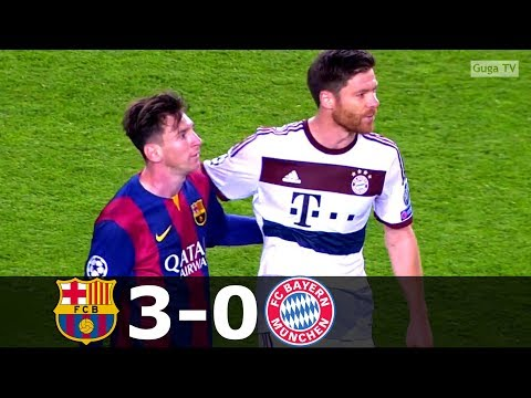 Barcelona vs Bayern Munich 3-0 – UCL 2014/2015 – Highlights (English Commentary) HD