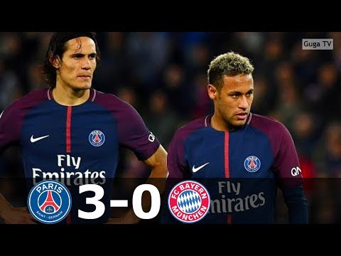 Paris Saint Germain vs Bayern Munich 3-0 – UCL 2017/2018 – Highlights HD