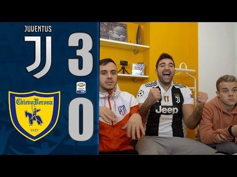 DOMINIO!! JUVENTUS 3-0 CHIEVO | REACTION LIVE w/FIUSGAMER,OHM & ENRY LAZZA