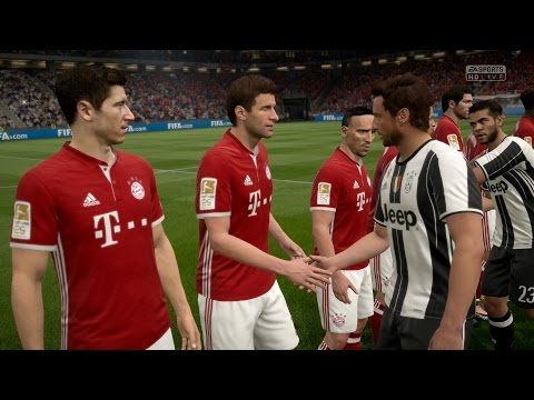 FIFA 17 | Juventus vs FC Bayern Munich – Full Gameplay (PS4/Xbox One)