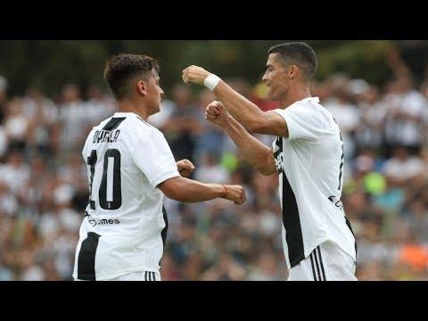 *JUVENTUS VS JUVENTUS U23* [ 8-0 ]  Goal Cr7 !!!!!