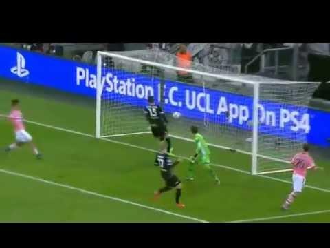 Stephan Lichtsteiner first-time goal – Highlights B.Monchengladbach vs Juventus