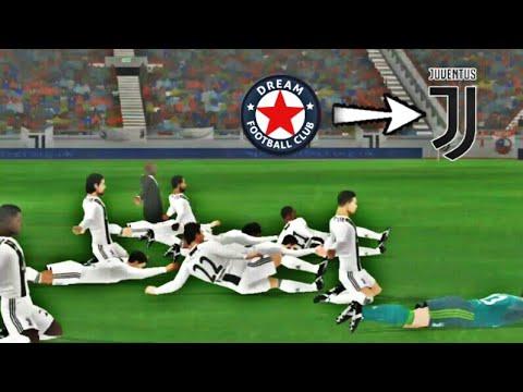 Créer L'Equipe de Juventus🔥Logo Maillot & Joueurs🔥Dream League Soccer 18