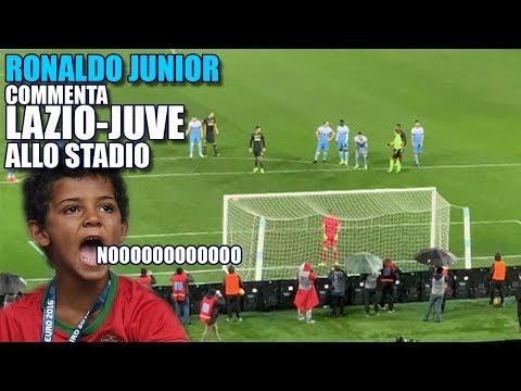 IL COMMENTO DI LAZIO-JUVE | Ronaldo Junior allo STADIO |