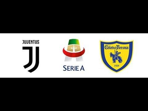 Juventus vs Chievo verona SeriaA 2019