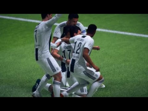 FIFA 19 Juventus vs Bayern Munic Best counterAttack in champions league History Scored by Manzukich