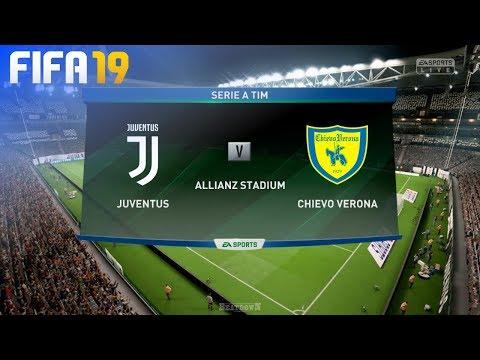 FIFA 19 – Juventus vs. Chievo Verona @ Allianz Stadium