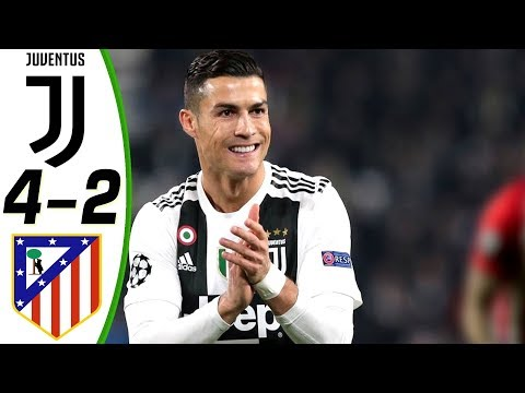 Juventus vs Atletico Madrid 4-2 All Goals and Highlights RESUMEN ( English Commentary ) HD