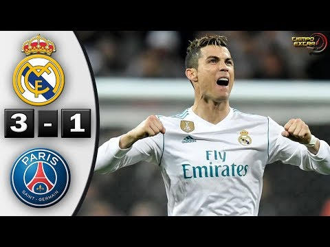 Real Madrid vs PSG 3-1 UCL 17/18 Octavos de Final IDA 14/02/2018