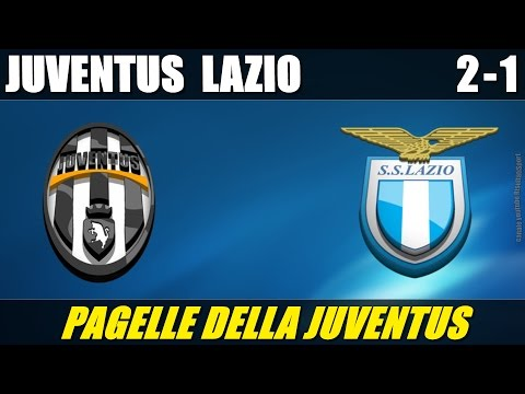 JUVENTUS – LAZIO 2-1 – FINALE COPPA ITALIA – 20-5-2015 – LE PAGELLE DELLA JUVENTUS
