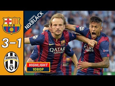 Barcelona 3-1 Juventus 2015 Champions League Final All goals & Highlights FHD/1080P