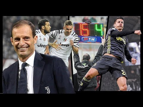 Tutti i Cambi DECISIVI di Allegri con la Juventus (2014-19)