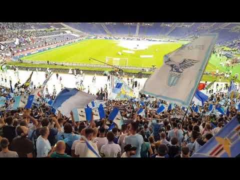 Juventus-LAZIO finale Supercoppa Italiana, CURVA NORD!
