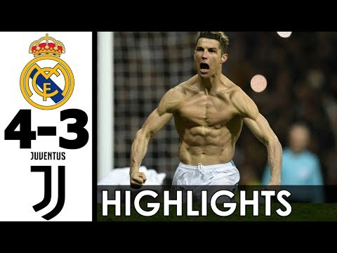 Real Madrid vs Juventus 4-3 Goals and EXT Highlights w/ English Commentary 2017-18 HD 720p