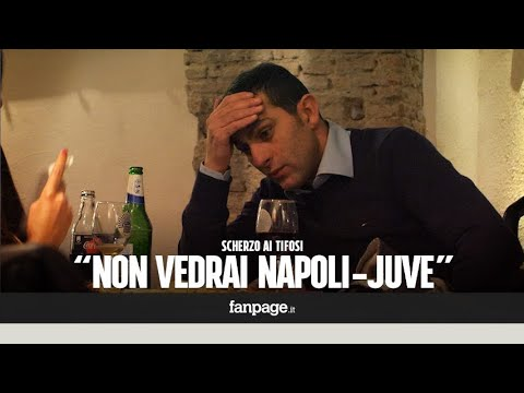 """""""Non puoi guardare Napoli-Juve"""" – CANDID CAMERA ai tifosi napoletani"""