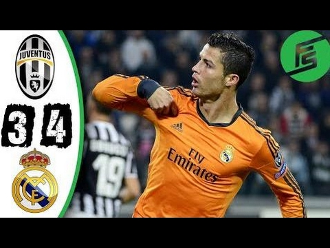 Juventus vs Real Madrid 3-4 – Highlights & Goals – 2013