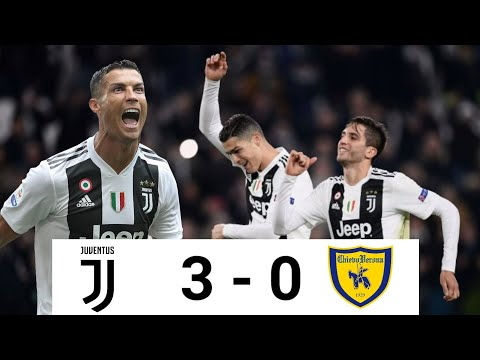 Juventus vs Chievo 3-0 All Goals & Match Highlight | Juventus Match Today | Ronaldo goal