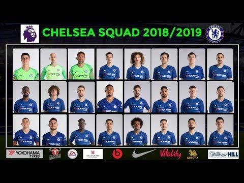 OMG!! CHELSEA SQUAD 2018/2019