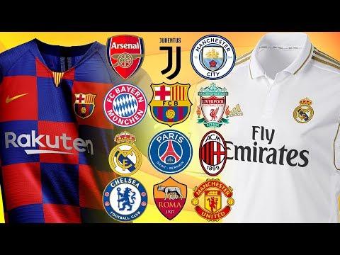 2019/20 ⚽️ NEW KITS!! | Barcelona, Juventus, PSG… | LEAKED
