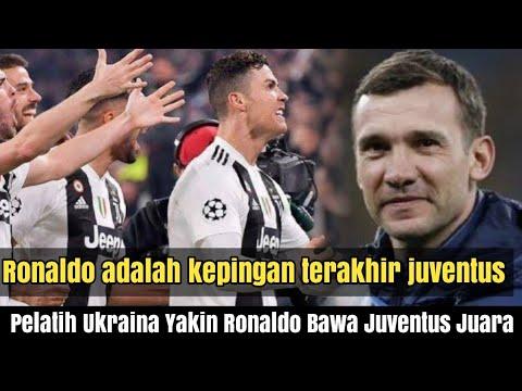 Bahkan pelatih timnas Ukraina pun setuju bahwa Ronaldo akan bawa Juventus jadi juara liga champions