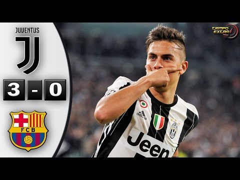 Juventus vs Barcelona 3-0 UCL 16/17 Resumen Highlights 11/04/2017