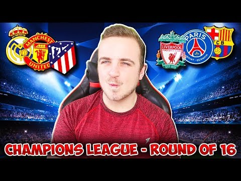 My Champions League 2018/19 ROUND OF 16 [SECOND LEG] PREDICTIONS!