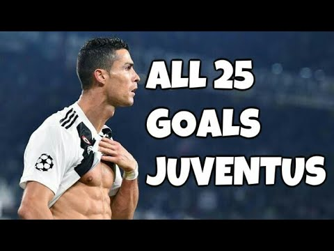 Cristiano Ronaldo • First 25 Goals for Juventus 2018/19 •