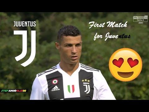 Cristiano Ronaldo ⚽ First Match for Juventus ⚪⚫ ⚽ HD 1080i #CristianoRonaldo #Juventus
