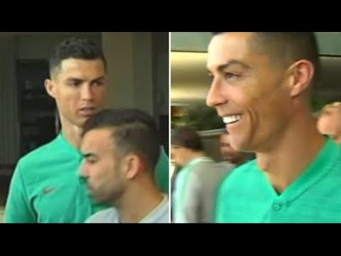 Cristiano Ronaldo: 'Don't You Have A Juventus Shirt? After Fan Asks Him To Sign Real Madrid Shirt