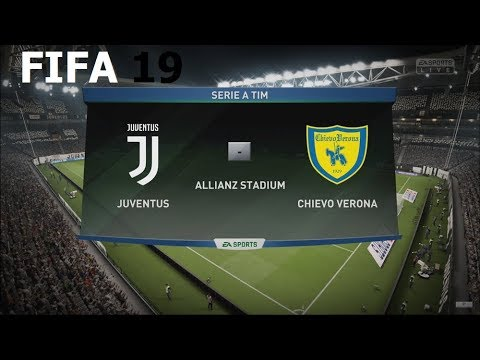 FIFA 19 – Serie A – Juventus vs. Chievo Verona @ Allianz Stadium