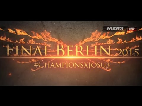 Promo Juventus vs. FC Barcelona (6/6/2015) Final Berlin 2015