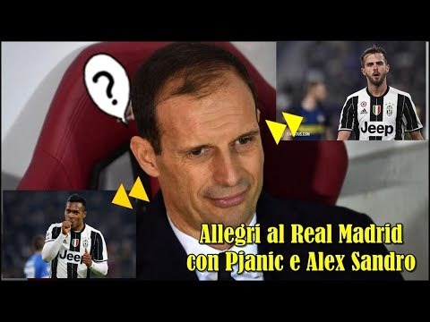 Mercato Juventus: Dalla Spagna, le ultime news si concentrano su Massimiliano Allegri