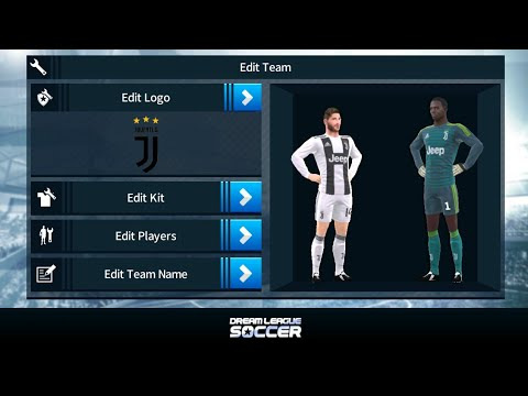 Tutorial Memasang Mod Club Juventus Di Dream League Soccer 2018