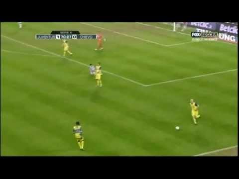 Scivolata di Bradley (Juventus vs Chievo Verona)