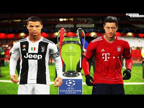 PES 2019 | Juventus vs Bayern Munich | Final UEFA Champions League | Full Match | Penalty Shootout