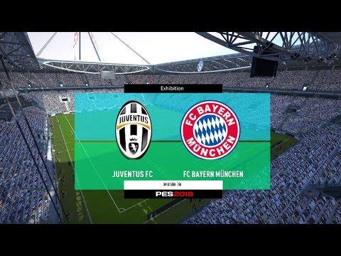 PES 2018 | Juventus vs Bayern Munchen | Full Match Gameplay