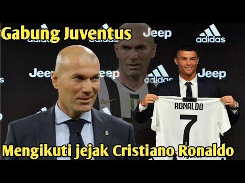 Resmi, Zidane Mengikuti Cristiano Ronaldo Gabung Juventus