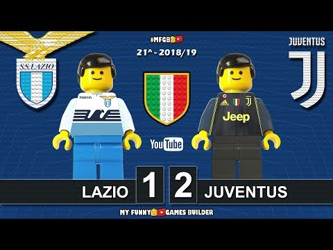 Lazio Juventus 1-2 • Serie A 2018/19 • (27/01/2019) All Goal Highlights Lego Football Sintesi Calcio