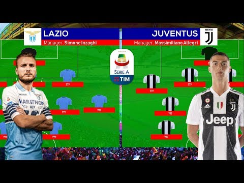 LAZIO vs JUVENTUS: Predicted Lineups, Team News and Head to Head