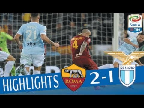 Roma – Lazio 2-1 – Highlights – Giornata 13 – Serie A TIM 2017/18