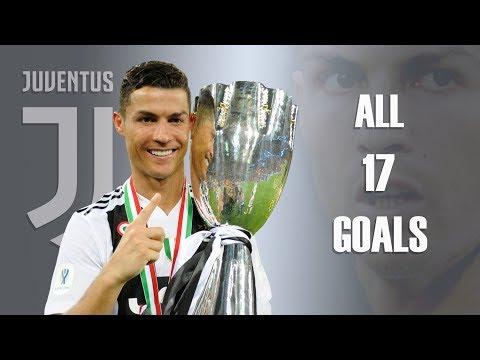 Cristiano Ronaldo • All 17 Goals for Juventus 2018/19 • Crazy His First Half Season for Juventus HD