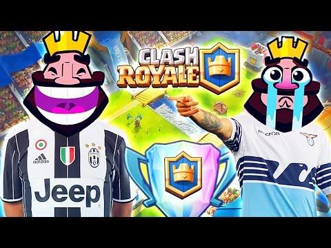 JUVENTUS vs LAZIO !! Rivincita Coppa Italia Clash Royale