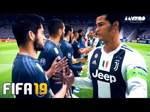 FIFA 19   JUVENTUS VS REAL MADRID   Realistic Broadcast Camera   Gameplay PC