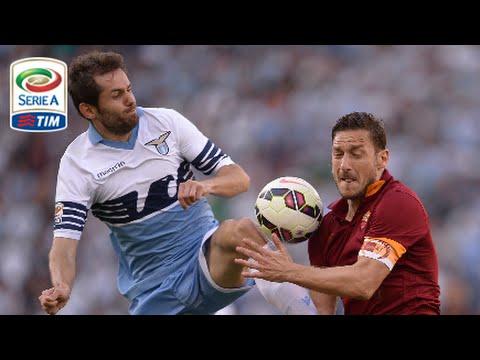 Lazio – Roma 1-2 – Highlights – Giornata 37 – Serie A TIM 2014/15
