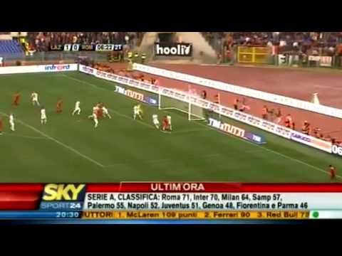 Lazio-Roma 1-2   SKY SPORT HD 18/04/10