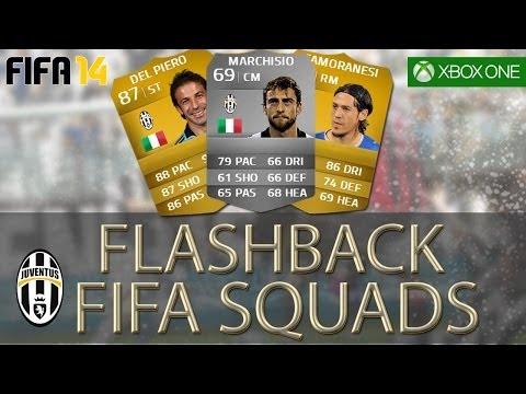 FLASHBACK FIFA SQUADS – INSANE Juventus 06/07 Serie B team ft Trezeguet