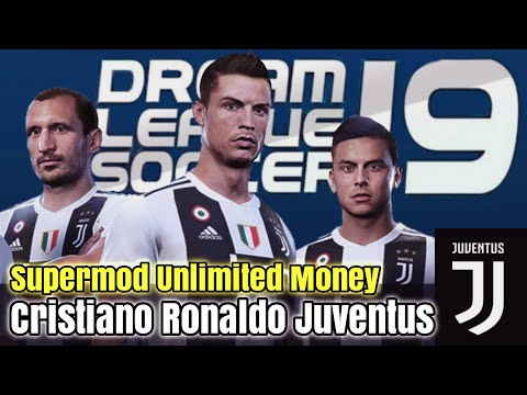 Dream League Soccer 18 mod Juventus New update Team & Kits 2018/2019 | Cristiano Ronaldo