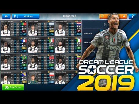 CTM | Cách để có đội hình Juventus 2018/2019 mới nhất | DLS 2019