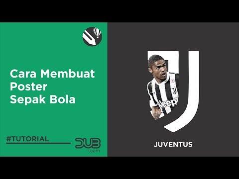 Tutorial make wallpaper football JUVENTUS
