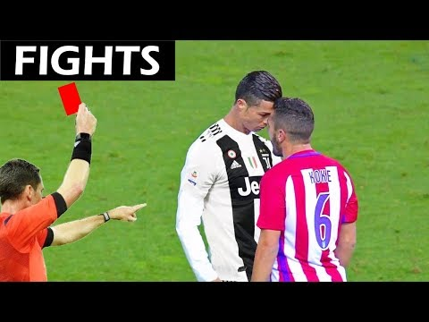 Cristiano Ronaldo – Epic Fights, Red Cards and Moments